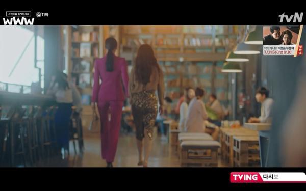 Phim Search: WWW tập 11: Lee Da Hee trở mặt với tiền bối thân thiết để về phe Im Soo Jung ảnh 62