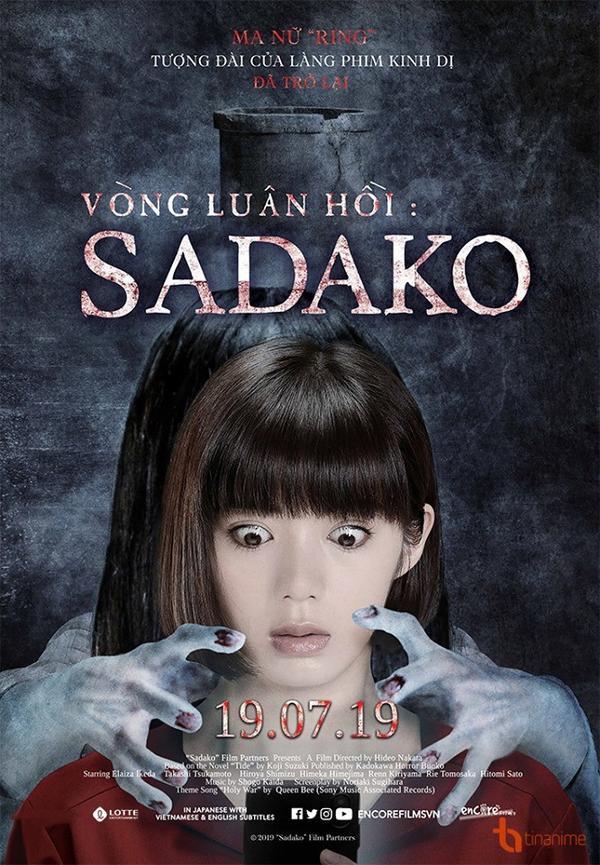 Poster Sadako - Vòng Luân Hồi (The Ring 2019)