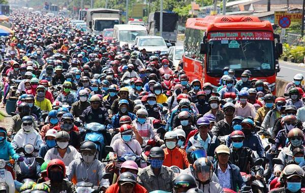 Dân số Việt Nam đạt hơn 96,2 triệu người. Ảnh: VnExpress