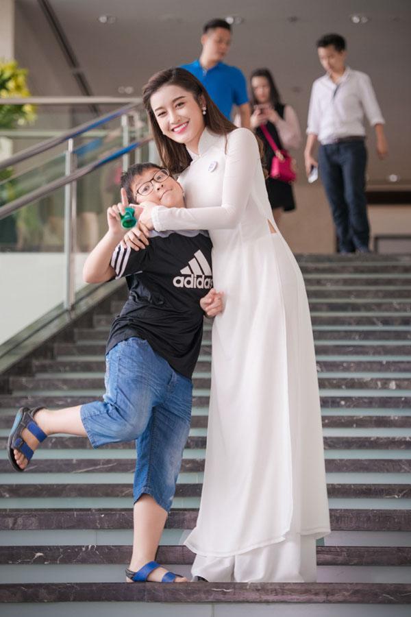 Hình ảnh khi Việt Anh còn bé.