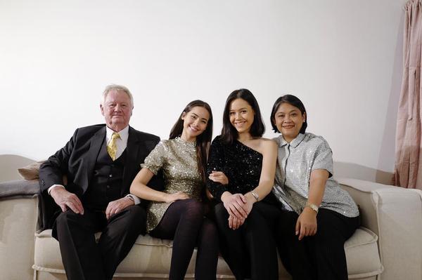 Gia đình của nữ diễn viên Yaya