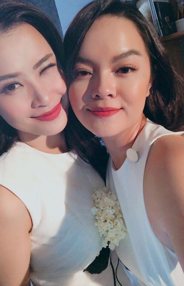 Phạm Quỳnh Anh và Đông Nhi có tình bạn thân thiết.