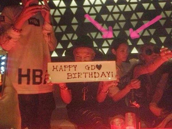 Kiko Mizuhara xuất hiện trong sinh nhật chàng trưởng nhóm BIGBANG.