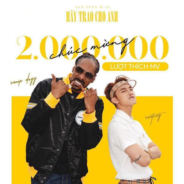 MV trở lại của Sơn Tùng M-TP - Hãy trao cho anh đạt 2.000.000 lượt like trên Youtube.