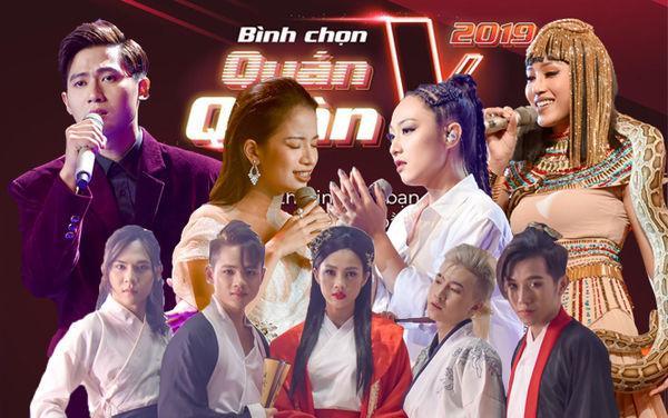 Trước giờ G, fan The Voice 2019 tranh cãi tìm quán quân: Top 5 ngang tài ngang sức! ảnh 10