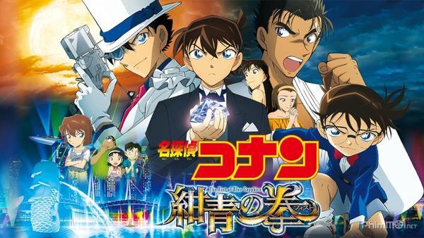 Poster Thám tử lừng danh Conan: Cú Đấm Sapphire Xanh.