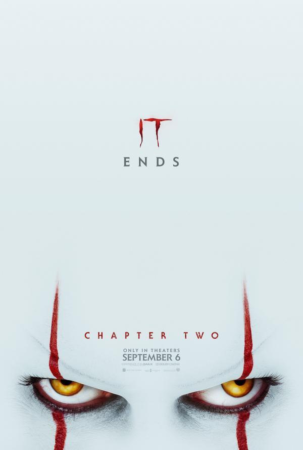 Poster phim It 2 - Chú hề ma quái.