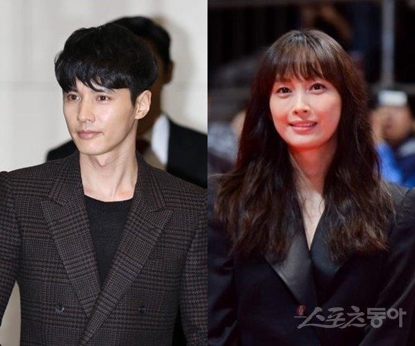 Kim Woo Bin và Lee Na Young.
