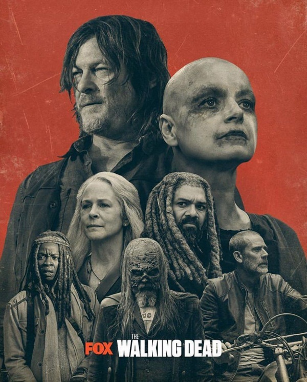 Poster mùa 10 series The Walking Dead