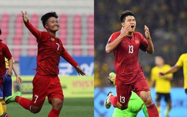 Trần Thị Thương (bên trái).