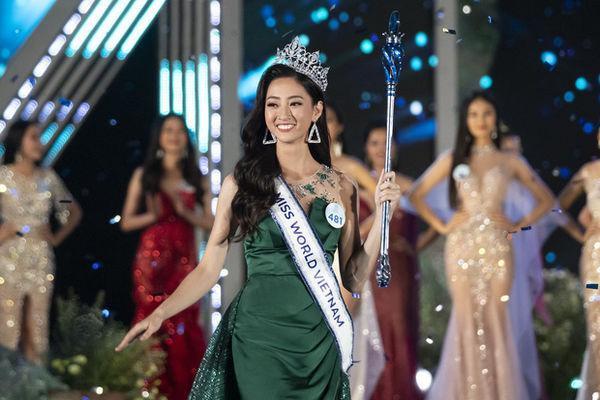 Chân dung Miss World Viẹtnam 2019.