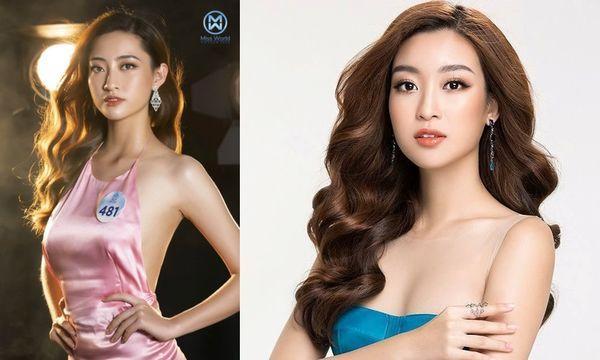 Cô nàng cũng là cái tên được chú ý ngay từ những vòng ngoài bởi khuôn mặt có nét tương đồng với Hoa hậu Việt Nam 2016 Đỗ Mỹ Linh.