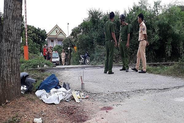 Chỉ trong vòng một tuần tại huyện Tuyên Hóa đã xảy ra 2 vụ tai nạn đường sắt khiến 2 người tử vong. (Ảnh: PLVN).
