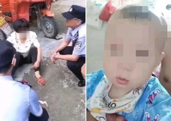 Người phụ nữ quẫn trí ném con gái nhỏ xuống sông sau khi cãi nhau với mẹ chồng. Ảnh: China Press