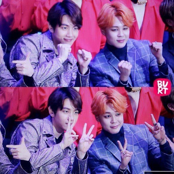 Baekhyun (EXO) và Jimin (BTS)