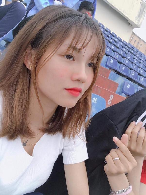 Cô là một trong những nhân tố mới mà HLV Mai Đức Chung gọi vào đội tuyển lần này.