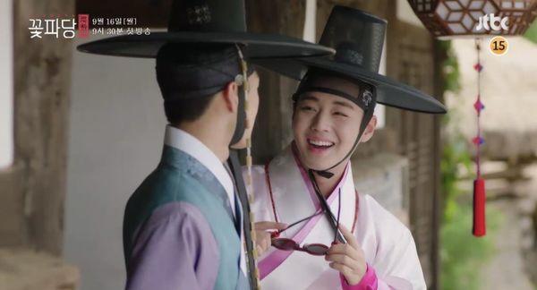 Park Ji Hoon cùng dàn mỹ nam cực phẩm khiến khán giả thích thú trong Vườn sao băng phiên bản cổ trang ảnh 9