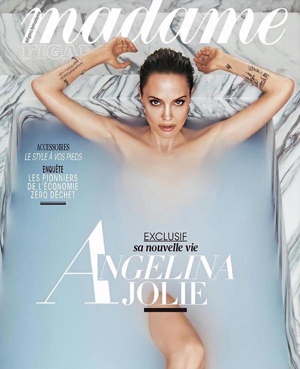 Mỹ nhân đầy quyền lực Hollywood tiếp tục mãn nhãn fan trong bộ ảnh tạp chí mới nhất khi khoe trọn body trong bồn tắm phủ nước xanh che vùng nhạy cảm