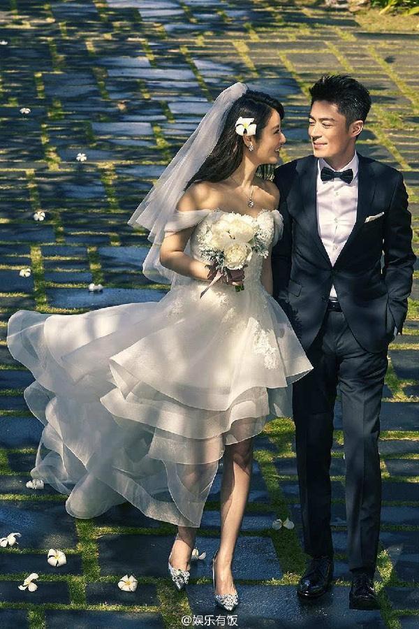 Lâm Tâm Như và Hoắc Kiến Hoa xuất hiện vui vẻ bên nhau đập tan tin đồn hôn nhân lục đục ảnh 1