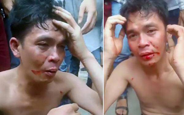 Ông Đoàn Văn Tí bị cư dân mạng đánh. Ảnh: báo GĐVN