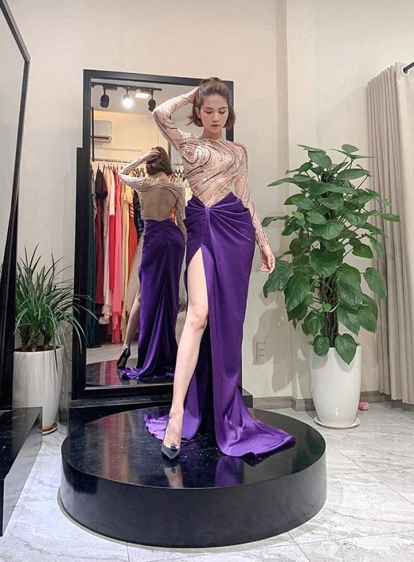 Những thiết kế váy này như dành riêng cho người đẹp làm bật ba vòng đẫy đà, cuốn hút