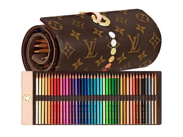 Bộ bút chì màu trị giá 20 triệu đồng của Louis Vuitton dành cho các tín đồ nghệ thuật hội họa đam mê sự xa xỉ, sang chảnh