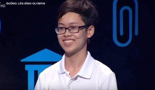 Thí sinh Nguyễn Hữu Quang Nhật