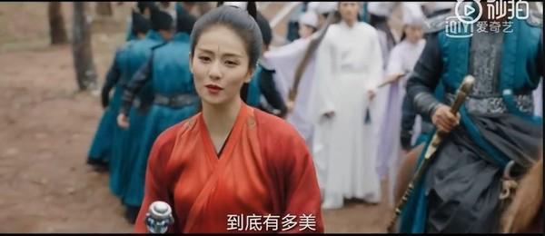 Mỹ nhân Hoa ngữ và màu đỏ vương quyền trong các bộ phim truyền hình ảnh 25