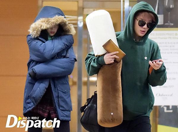 Kim Junsu và Hani.