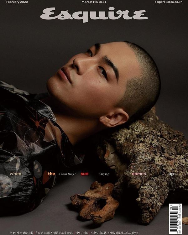 """Hình ảnh của thành viên Big Bang trên ấn phẩm tạp chí đàn ông Esquire số tháng hai khiến bao fans nữ """"trụy tim""""."""