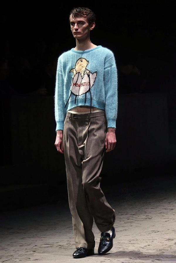 Những thiết kế hoạt hình siêu dễ thương trên những mẫu áo của thương hiệu Ý được mix & match nền nã