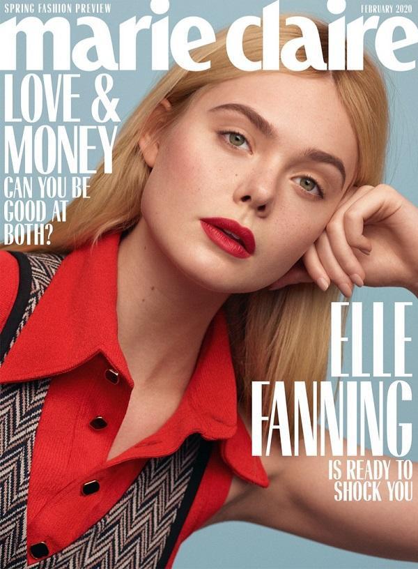Elle Fanning trên ấn phẩm tạp chí số mới nhất