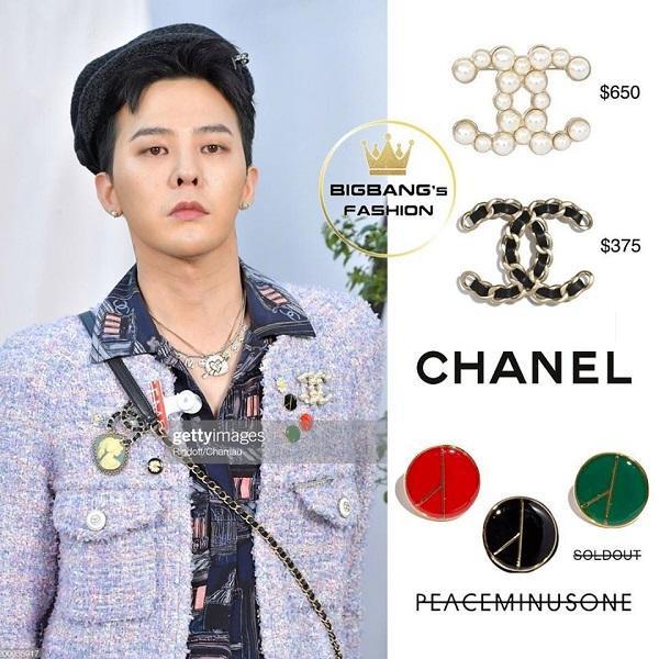 Nhanh chóng các fashionista đã tìm kiếm thông tin các khuy cài áo của G-Dragon và một trong những số đó đã sold out