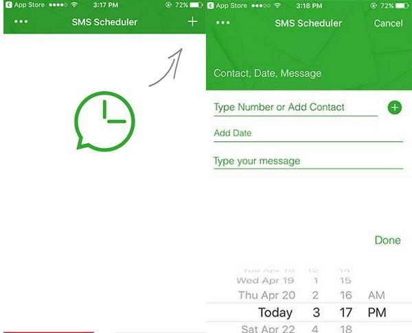 Trong trường hợp bạn đang sử dụng iPhone và cũng muốn lên lịch để điện thoại tự động gửi đi tin nhắn chúc mừng năm mới vào đúng thời điểm giao thừa, hãy tải ngay SMS Scheduler.