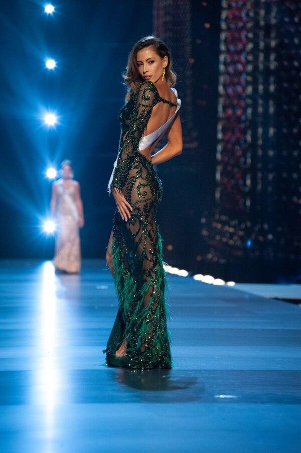 Bộ cánh từng được khán giả bình chọn là một trong những thiết kế đẹp nhất mùa giải Miss Universe 2018.