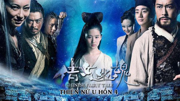 Dương Mịch, Lưu Diệc Phi ăn đứt Trịnh Sảng khi vào vai Nhiếp Tiểu Thiến trong Thiện nữ u hồn ảnh 7