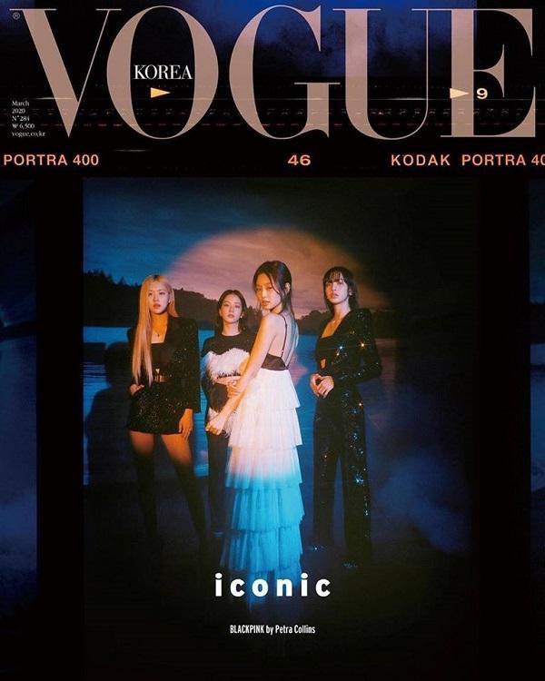 Dưới bàn tay của nhiếp ảnh gia Petraf Collins, loạt hình ảnh cùa nhóm Black Pink trong tạp chí Vouge Korea khiến hàng triệu fans nhìn vào chỉ muốn mua về ngay