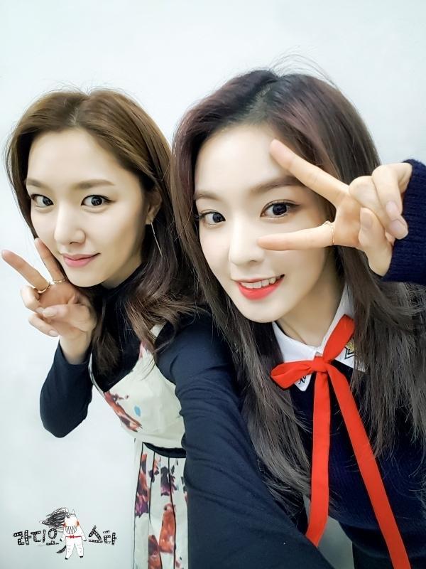 Giống nhau đến kinh ngạc, Seo Ji Hye và Irene (Red Velvet) là chị em thất lạc? ảnh 6