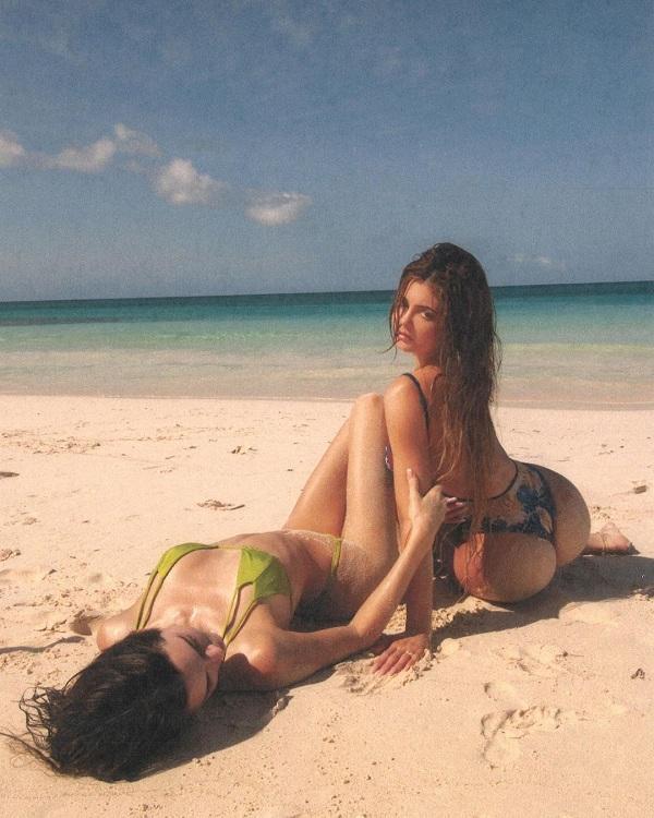 Hai chị em đình đám Hollywood trong các thiết kế bikini khiến cánh mày râu và dân tình bấm thả tim rần rần