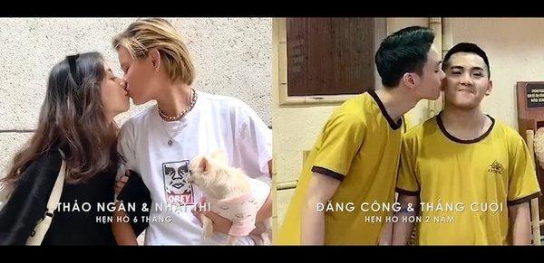 """Trước khi xuất hiện trong Vlog của Giang Ơi thì Tím và Nhật Thi còn từng xuất hiện trong MV triệu view """"Hơn cả yêu"""" của nam ca sĩ Đức Phúc."""