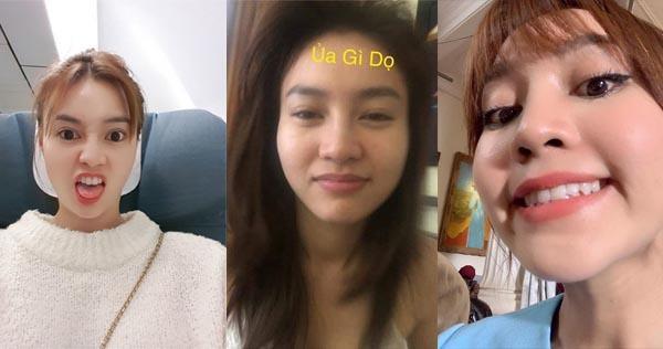 """Nhiều khoảnh khắc """"mua vui"""" của Ninh Dương Lan Ngọc được cô nàng đăng tảiđể đem lại tiếng cười cho fan của mình."""
