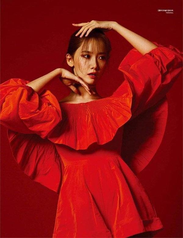 Yoona tạo dáng trong loạt ảnh mới nhất khi chụp cho tạp chí thời trang