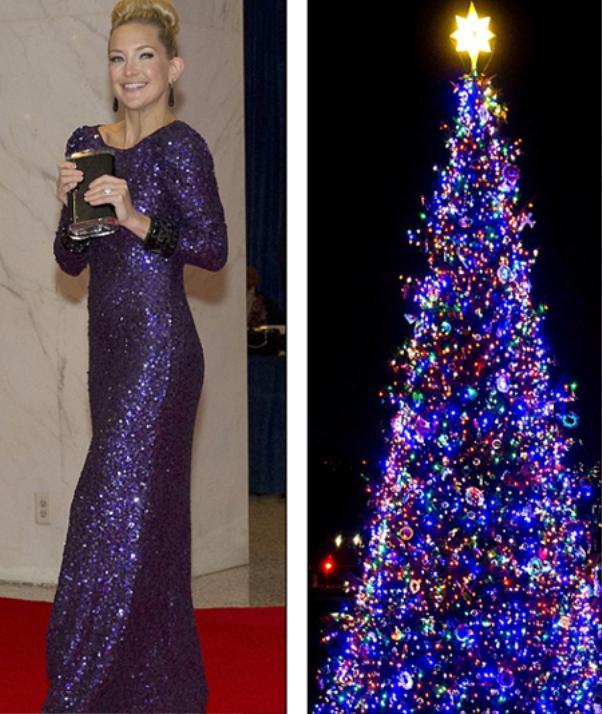 Kate Hudson đẹp rạng ngời trong chiếc đầm sequin tím