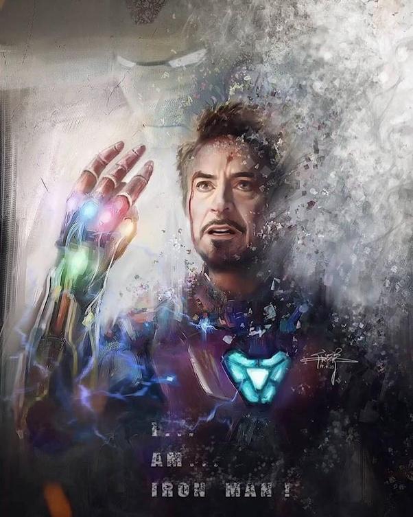 Cái chết của Iron Man có lẽ là mất mát to lớn nhất trong lòng các fan.