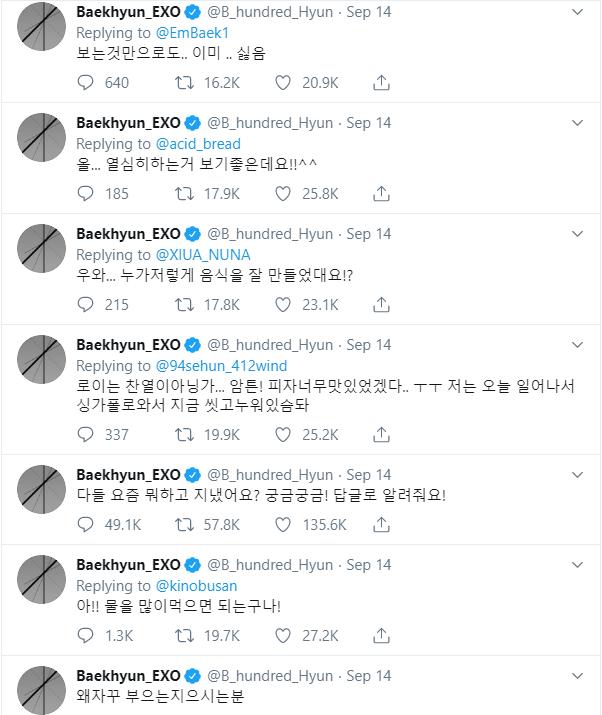 Thế nhưng có hơi thiệt thòi cho fan quốc tế vì anh chàng chỉ tweet bằng tiếng Hàn.