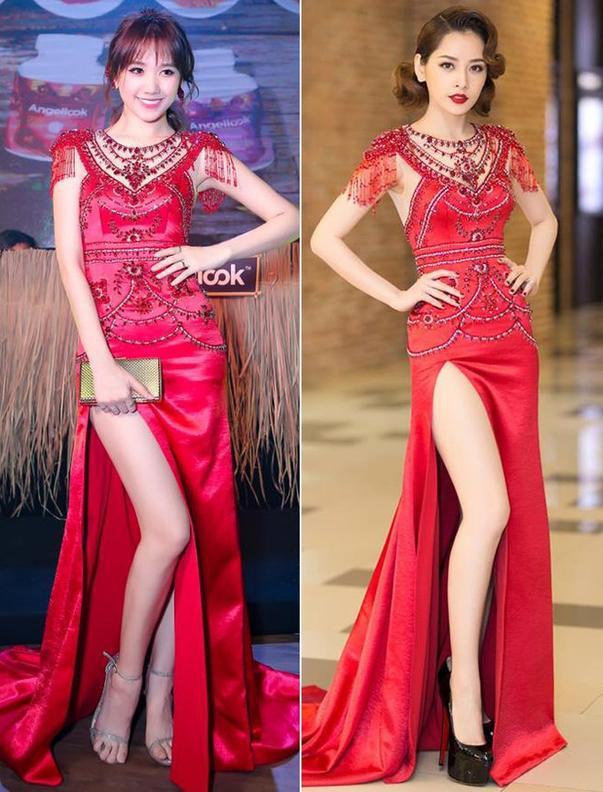 Nóng mắt với pha đụng hàng váy áo lịch sử đẹp bất phân thắng bại của dàn mỹ nhân Việt ảnh 6