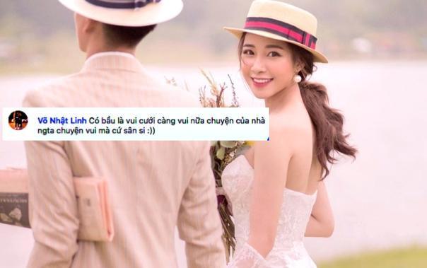 Tiền vệ Phan Văn Đức và hot girl xứ Nghệ Nhật Linh đã có cái kết đẹp cho chuyện tình ngọt ngào. (Ảnh IGNV)