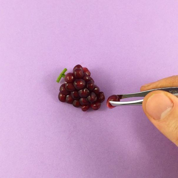 Bộ sưu tập siêu cool: đồ ăn mini làm từ trái cây ảnh 9