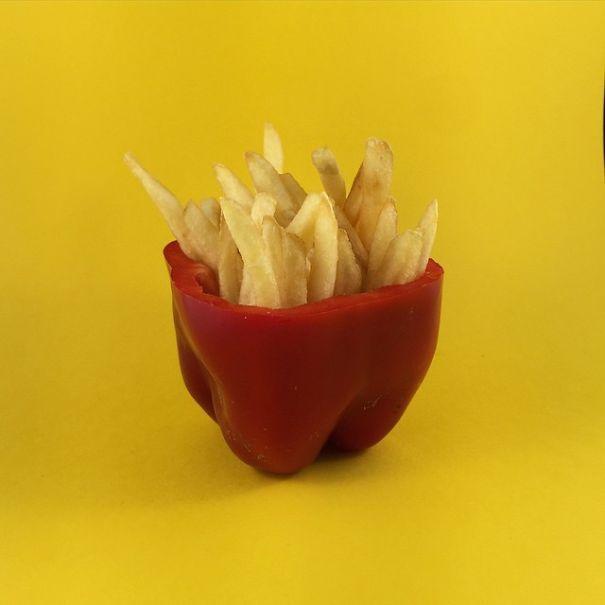 Bộ sưu tập siêu cool: đồ ăn mini làm từ trái cây ảnh 11