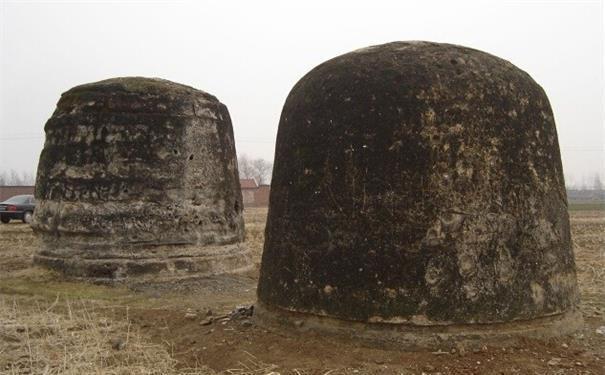 Phần lăng một của bà và Hiếu Trang Hoàng Thái Hậu. Ảnh: Baidu